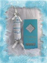 Сосулька Silver Frost от Patricia Ann и открыточка
