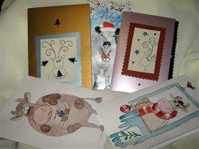 открытки от Оли Aliola