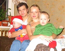 Наша дружная семья!!