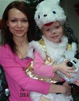 Мама Галина и доча Катюшка.