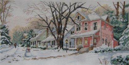 Зима на моей улице ДИМ