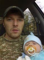 папа с сынулькой