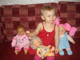 Лучший мой подарочек, это куколки от бабушек