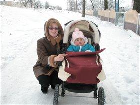 А это я с мамой гуляю...