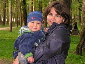 Мама Лена и Дениска