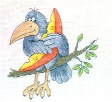 Ворона с сыром, дизайн Прокопец кажись