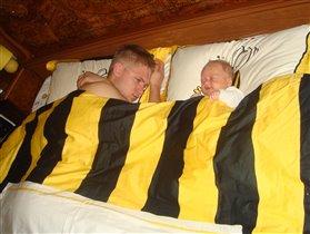 и поспать мы любим оба)))))))