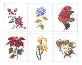 Floral stydy - всего 18 разных цветов , чуть больше 100 крестиков по высоте