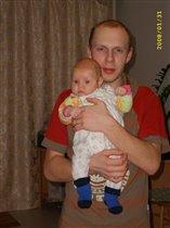 Папа и дочурка