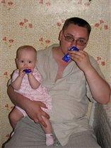 Сладкоежка и Сластена (папа и дочка)
