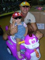 Мы с папой - автогонщики!