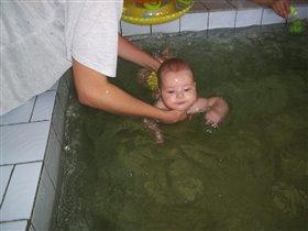 Юная плавчиха