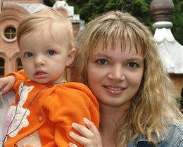 Мама и дочка!