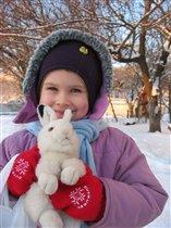 Зайчонок Снежок