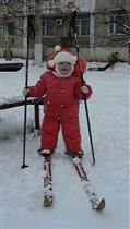 Я сама до вас дошла... на лыжах