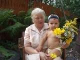 Прабабушка и правнук