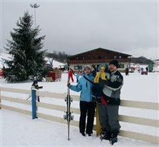 Всей семьей открываем лыжный сезон!!!
