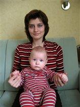 Мы с мамой - полосатики