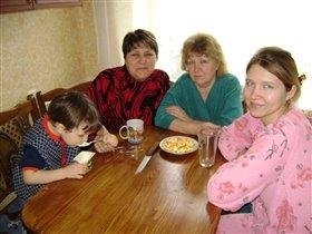 Я, мои любимые бабушки и мамочка