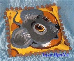 Подушка Мышка Риолис (шерсть)