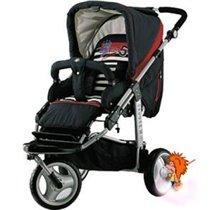 Детская 3-х колесная коляска Babywelt Oregon S (прогулочная + люлька)