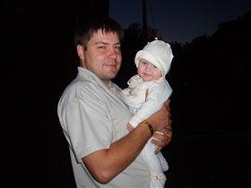 папочка с дочей