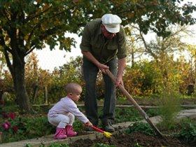 Деда и детка