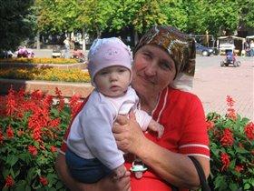 Первое далекое путишествие в Беларусь (7,5 мес)