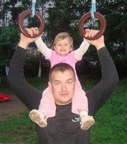 папа и я - спортивная семья