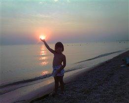 Солнце на ладошке