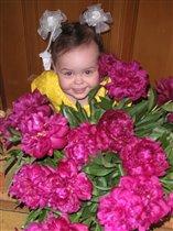 Я самый красивый пион в букете)))!