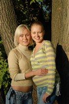 Я и сестрёнка Катя