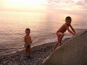 Море и мои дети
