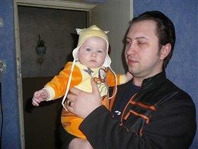 Папа + доча = копия друг друга