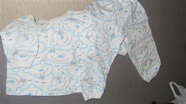 Пижама новая (только постирали)86-92