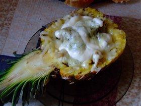 Свинина в ананасе для мужа:)