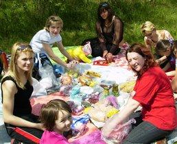 На пикнике