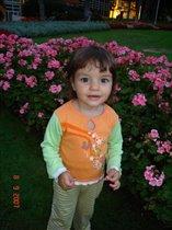Наш сладкий цветочек:)