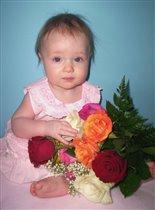 Я цветочек жизни моей мамочки!