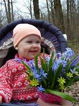 Весна.  Анна.  Первоцветы.
