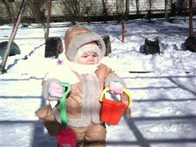 первая зима, первые шаги