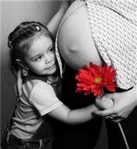 Подарю цветочек любимому пузику