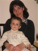моя мамочка и я Серёженька.