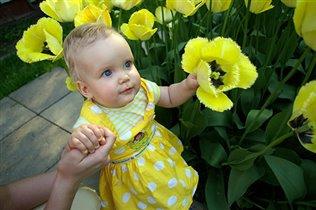 А-а, в Африке тюльпаны вот такой вышины...
