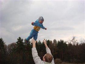 Мои первые полеты)))
