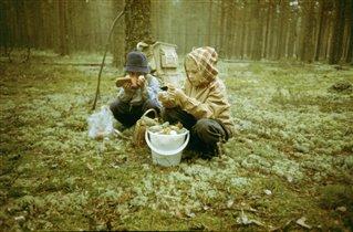 Грибники)))