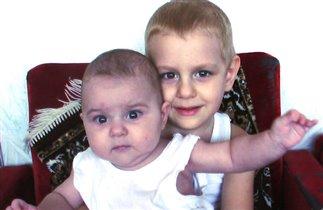 Кемал 3 года 8 месяцев  и Камелия 6 месяцев