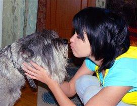 Поцелуй :)