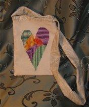 Моя сумочка из Сердечного проекта для Ирины Свет.