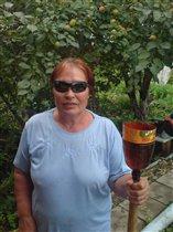 Собиратель яблок-наша бабушка
